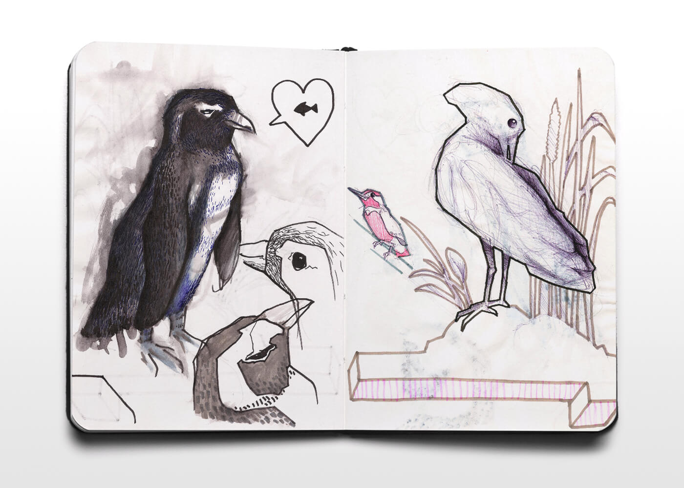 Bocetos De Animales