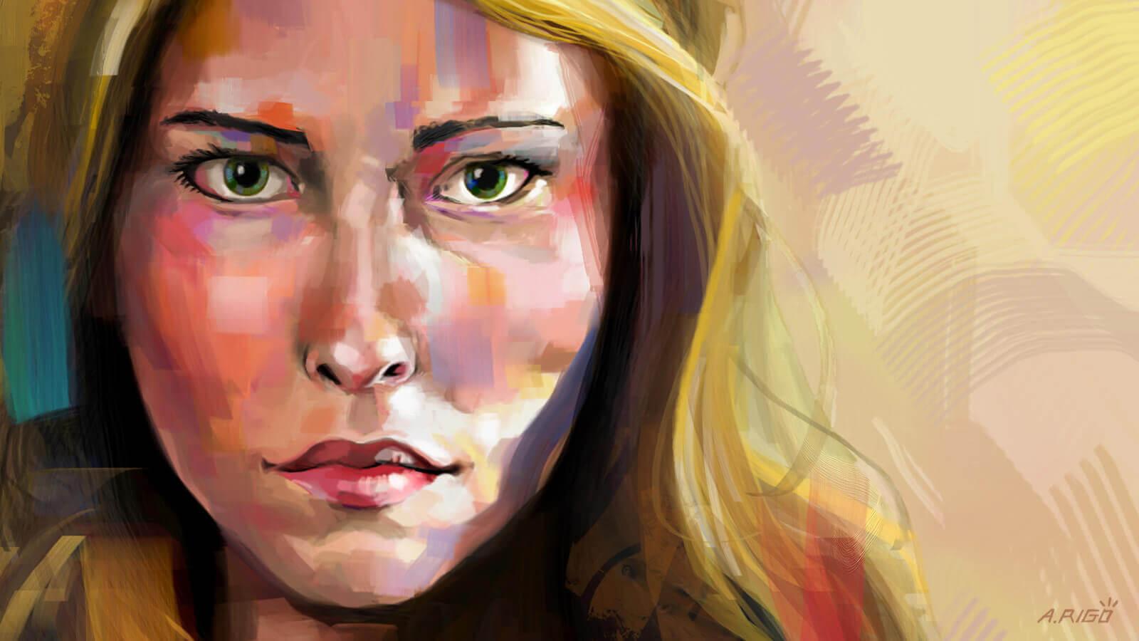 Retrato De Lidia - Lidia's Portrait