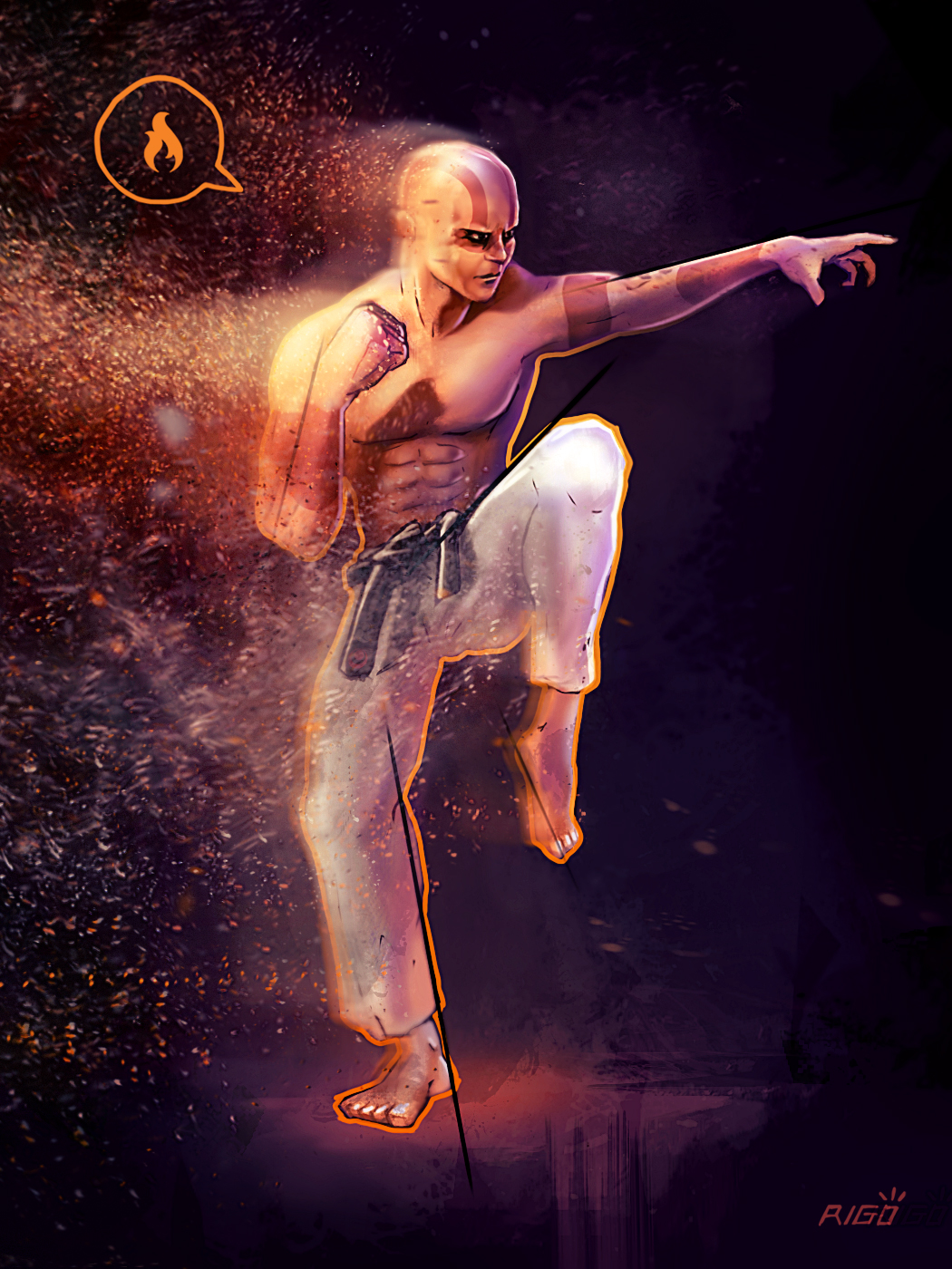 Luchador De Okinawa - Okinawa Fighter