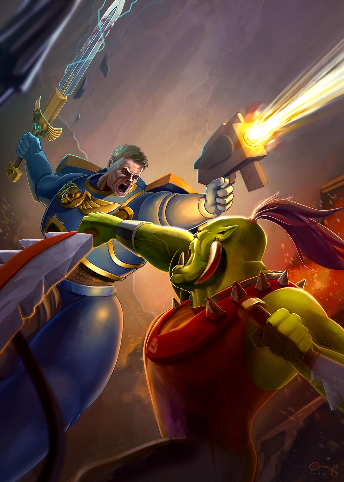 Lucha De Warhammer - Warhammer Fight