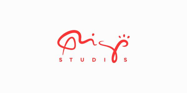 Logo rigostudios red