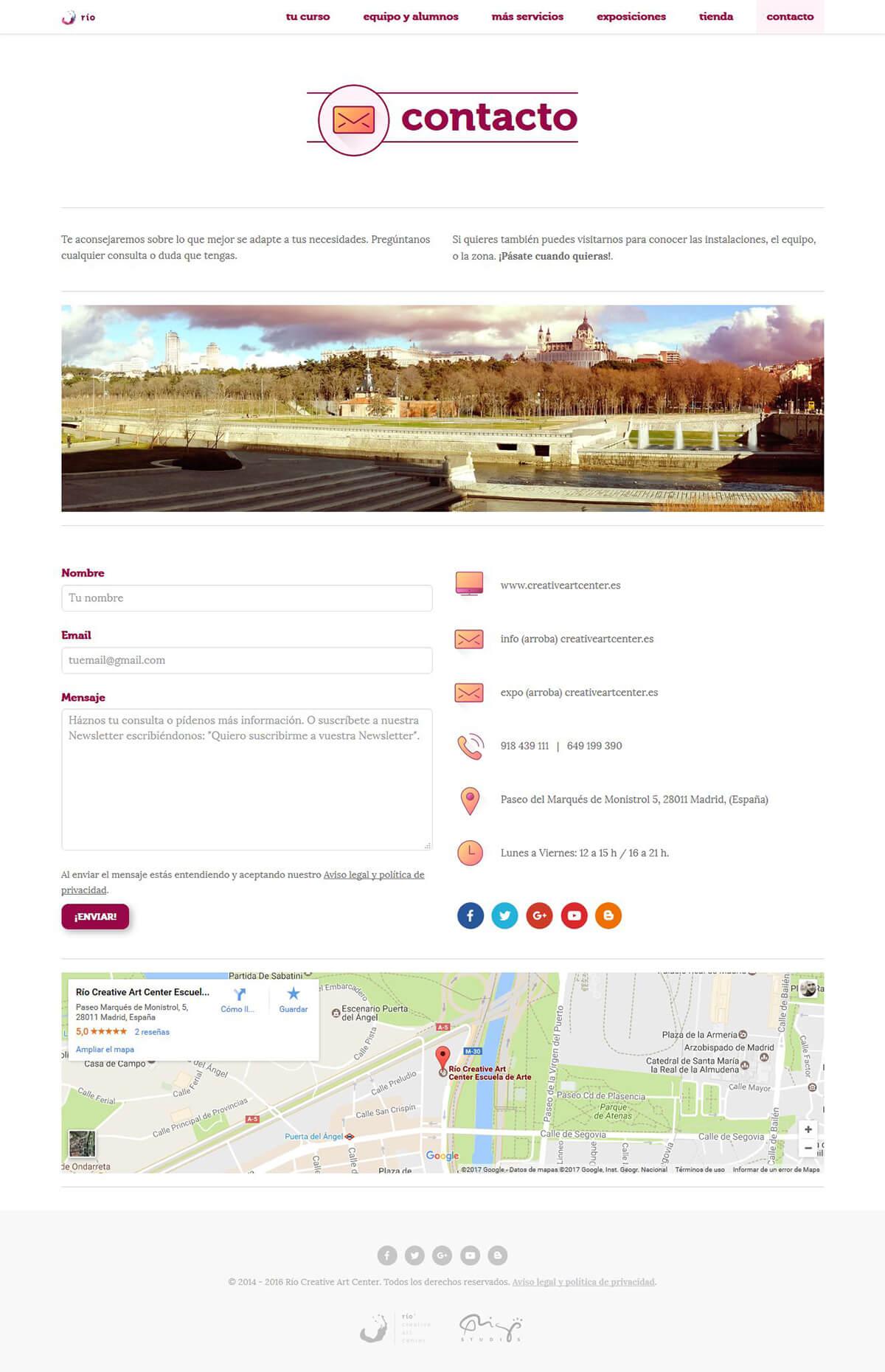website-rio-contacto