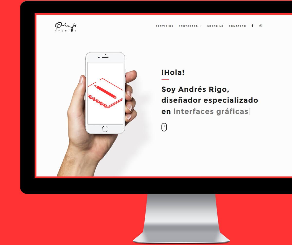 Andres Rigo - Diseñador gráfico y web en Madrid